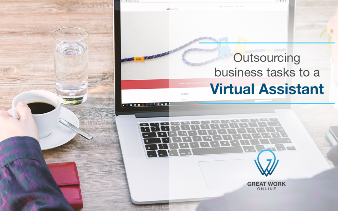 Outsourcing Business Tasks to a Virtual Assistant